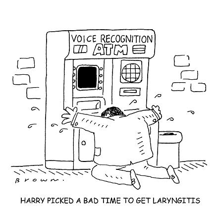 Voice recognition failure