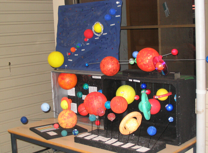 Examples Of Solar System Projects Pics About Space