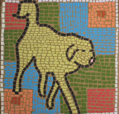 Mosaic Monday / Paper Dog Mosaics | Art Dog Blog