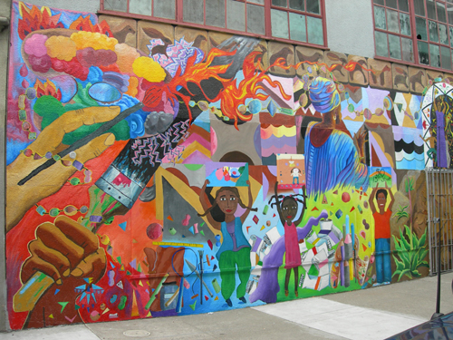 Murals in the mission for Define mural art