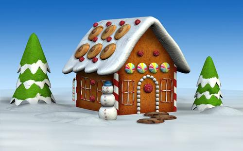 free gingerbread house clipart - photo #41