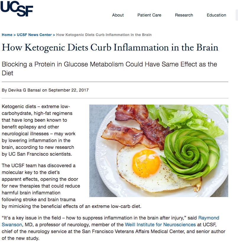 Keto Inflammation Article