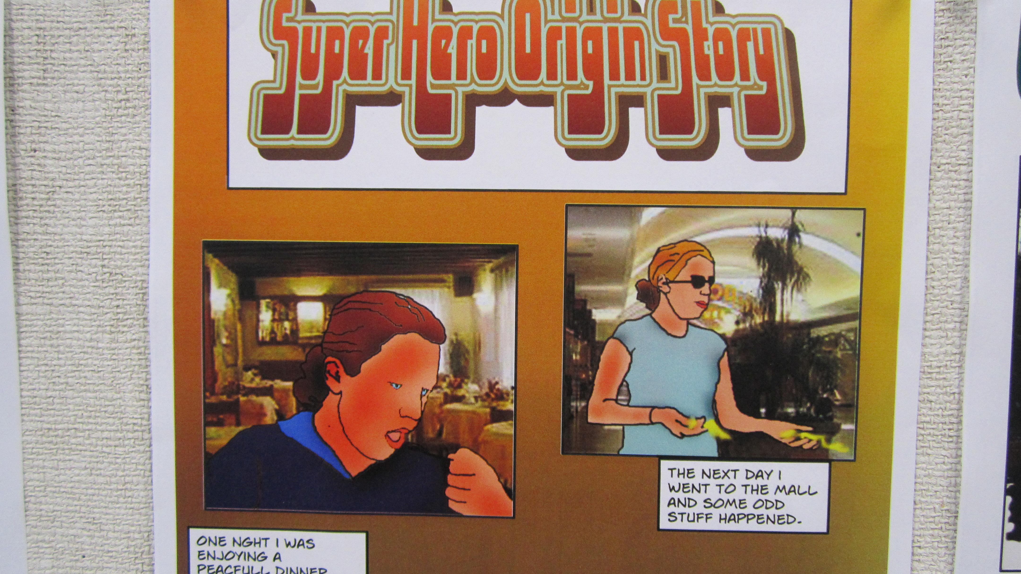 Super heroine origin