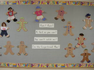 The Gingerbread Man Goes Around The World